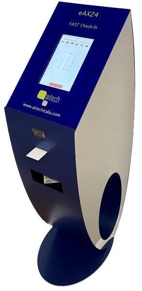 eAX24 la nuova soluzione Aitech per il FAST e CONTACTELESS Check-In – Oltre il Self Check-In!