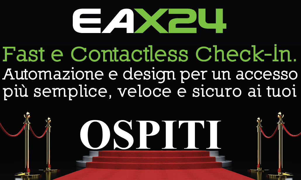 eax24 fast e Contactless check-in